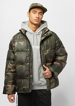 Carhartt WIP Deming camo laurel