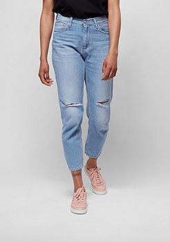 Jeans-Hose Page Carrot blue fight prime bleached