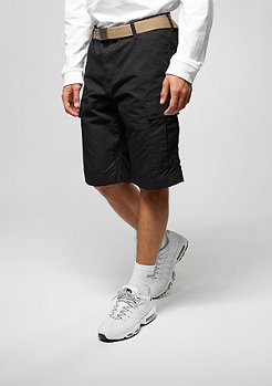 Cargo-Shorts Regular black rinsed