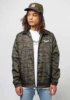 Übergangsjacke Strike Coach camo tiger/laurel/white