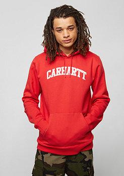 Carhartt WIP Yale chili/white