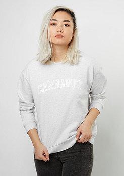 Carhartt WIP Yale ash heather/white