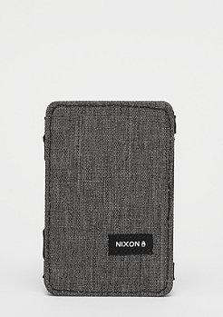 Nixon Atlas Magic Card Wallet charcoal heather