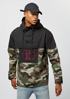 Cayler & Sons BL Anorak Justice N Glory black/woodland camo