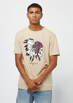 Cayler & Sons BL Tee Freedom Corps sand/mc
