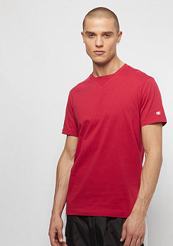 Champion C-Logo Crew Tee red
