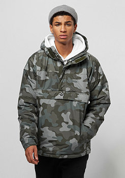 Park Authority by K1X Urban Hooded Halfzip MK4 woodland camo