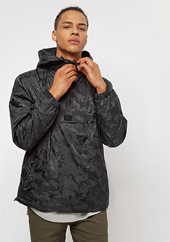 Reell Hooded Windbreaker black camo