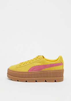 Puma PUMA by RIHANNA Cleated Creeper Suede Lemon-Carmise Rose