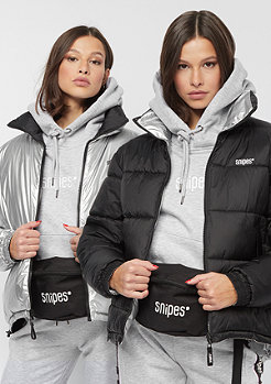 SNIPES Reversible Puffer black/silver