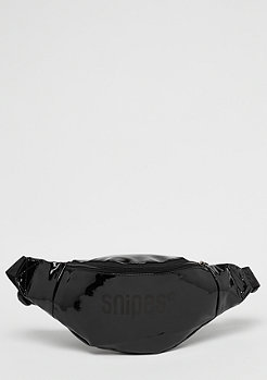 SNIPES Shiny Blackout Hip Bag black