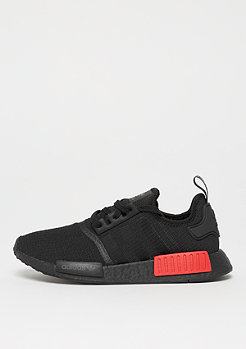 adidas NMD_R1 core black/core black/lush red