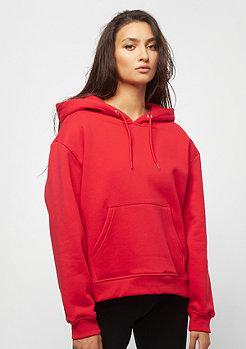 Urban Classics Ladies Oversized Hoody red