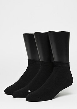 SNIPES LoCut Socks 3er Pack black