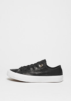 Converse Chuck Taylor All Star II Craft Leather Ox black/black/white