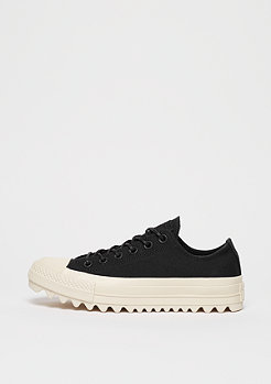 Converse Chuck Taylor All Star Lift Ripple OX Black/Black/Natural