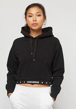 Converse Fleece Crop Star black