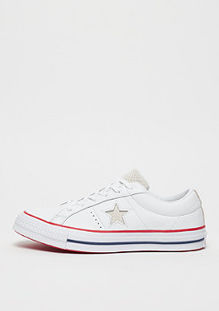 Converse One Star Ox white/gym red/white