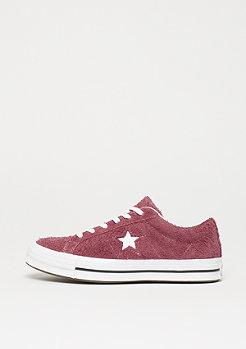 Converse One Star OX deep bordeaux/white/white