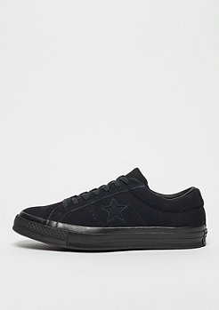 Converse One Star Ox black/black/black