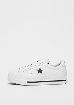 Converse One Star Platform OX white/black/white