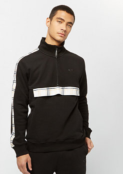 Criminal Damage Track Top Check Globe black/multi