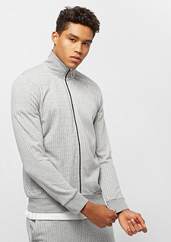 Criminal Damage Track Top Pinstripe grey/white