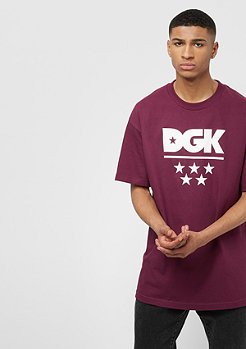DGK All Star burgundy