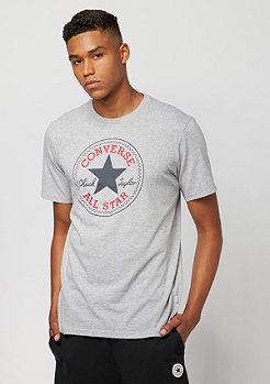 Converse T-Shirt Core Chuck Patch vintage grey heather