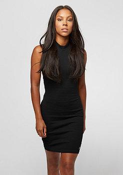 Kleid Ribbed Open black
