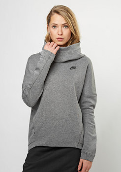 NIKE Hooded-Sweatshirt Tech Fleece PO carbon heather/htr/black