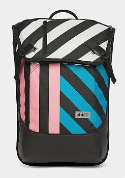 Stripeoff blue/pink/black