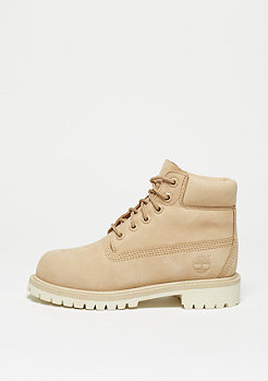 Timberland Kids 6-Inch Premium WP Boot light beige nubuck