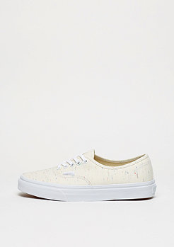 Skateschuh UA Authentic Speckle Jersey cream/true white
