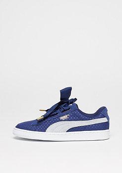 Schuh Basket Heart blue