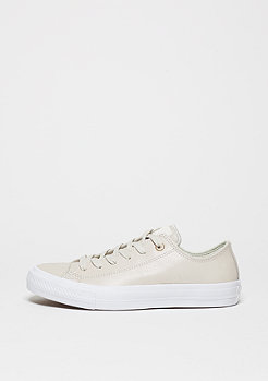 Converse Chuck Taylor All Star II Craft Leather Ox buff/buff/white