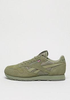 Reebok Laufschuh Classic Leather Urban Descent khaki/hunter green