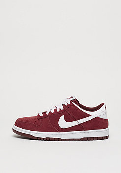 Basketballschuh Dunk Low (GS) pale team red/white