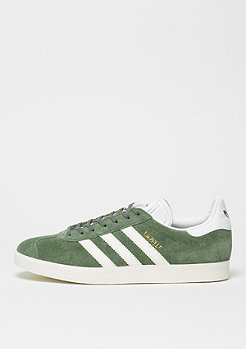 adidas Gazelle trace green/off white/white