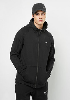Hooded-Zipper Modern black