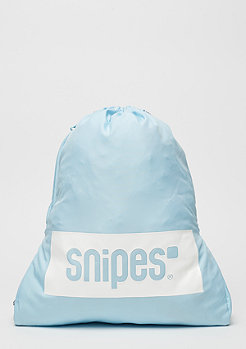 SNIPES Box Logo light blue/white