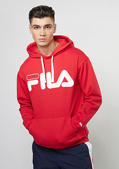 Fila Hooded-Sweatshirt Urban Line Basic Hoody Classic Logo Kangaroo true red