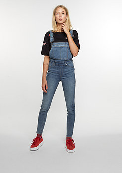 Cheap Monday Latzhose Dungaree Spray blue noise