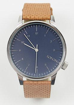 Uhr Winston blue cognac