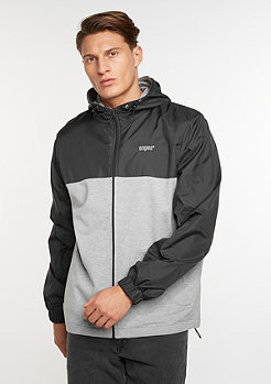 SNIPES Windrunner black/grey