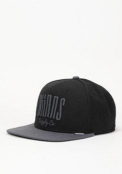 Djinn's Snapback-Cap 6P Citiation Dark Basics black