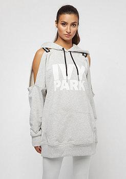 IVY PARK Cold Shoulder Logo Strap slate grey