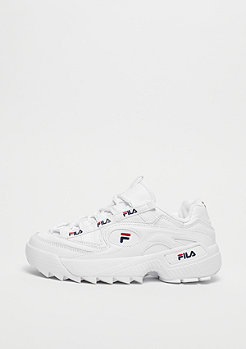 Fila D Formation White/Fila Navy/Fila Red