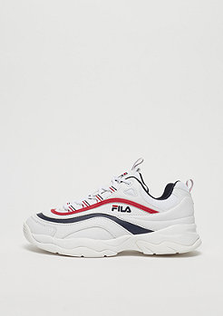 Fila Heritage Ray Low WMN White/FILA Navy/FILA Red