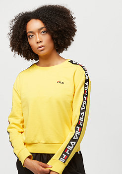 Fila Urban Line Tivka Sweat Crew Vibrant Yellow